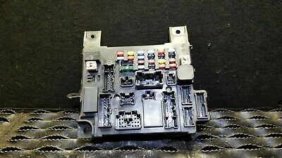 2008-2015 mitsubishi lancer 2 0l under hood junction fuse box module oem