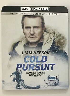 Cold Pursuit 4K Blu-ray Digital Slipcover Brand NEW FREE~First Class Shipping!