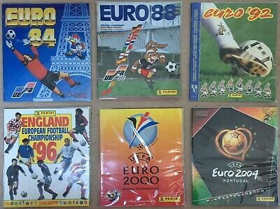 Panini European Championship Empty Albums Collection - Pick/choose