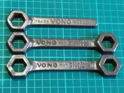 Vono bed bedstead wartime spanners WW1 ? WW2 ? cold war era ? Home front items