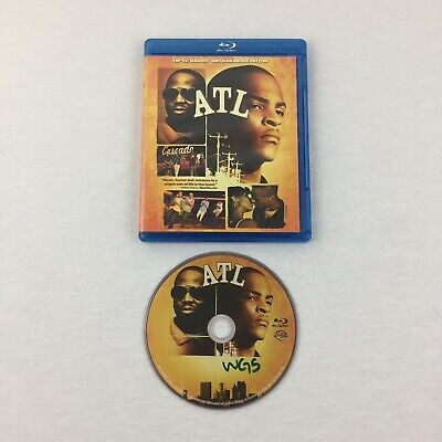 "ATL (Blu-ray, 2006) Tip ""T.I."" Harris Antwan Andre Patton Tested & Cleaned VG"