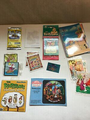 Flintstones Various Ephemera & Misc. Collection lot, Fun stuff