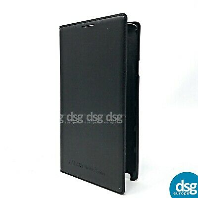 Original Samsung Galaxy Note 3 Neo Black Flip Wallet Cover Phone Case GENUINE