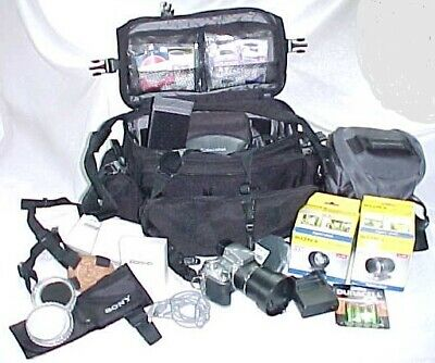 Sony Cyber-Shot Digital Camera Ultimate Accessories 0.7 & 1.7 Wide Lens & More