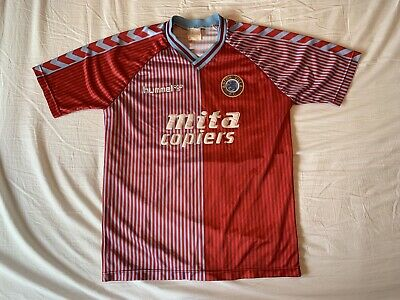 Aston Villa Vintage Home Football Shirt 1987/89 Adults Medium Hummel