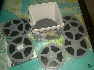 8mm Film DW Griffith Intolerance (1916) RARE FEATURE on 400ft Reels X 7