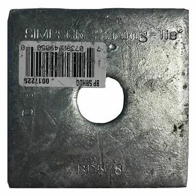 """Simpson Strong-Tie BP-5/8-3HDG 5/8"""" Bolt Dia. 3"""" x 3"""" Bearing Plate Galvanized"""