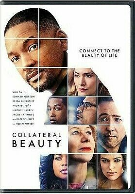 Collateral Beauty [DVD] LIKE NEW DISC + COVER ARTWORK - NO CASE
