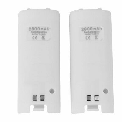 HOT CHARGER DOCKING STATION + 2x RECHARGEABLE BATTERY PACK FOR WII REMOTE