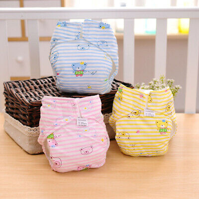 Waterproof Breathable Baby Infants Cotton 2-Layer Cloth Diaper Cover Nappy Panty