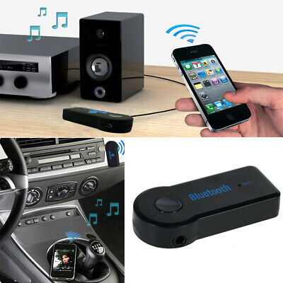 Hot AUX Audio Stereo Music Wireless Bluetooth 3.5mm Home Car Receiver Adapter