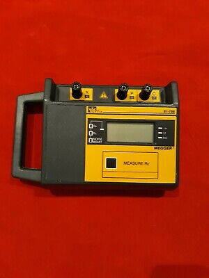 Ideal 3 Pole Megger Earth Resistance Tester Model 61-788