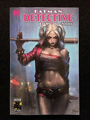 Detective Comics #1000 Jeehyung Lee Trade Dress Variant Harley Golden Apple!