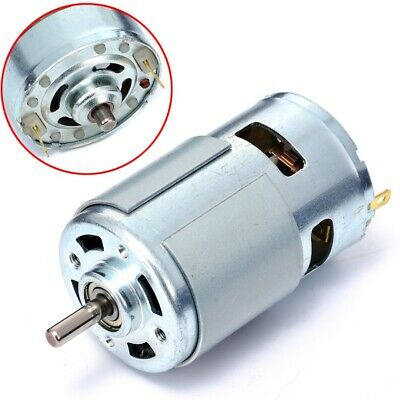 775 DC 12V-36V 3500-9000RPM Torque High Speed Motor Gear Ball Bearing Low Noise