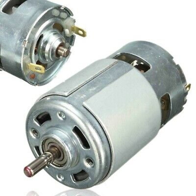 DC12-24V High-power 775 13000-15000RPM Large Torque Motor Low Noise Ball Bearing