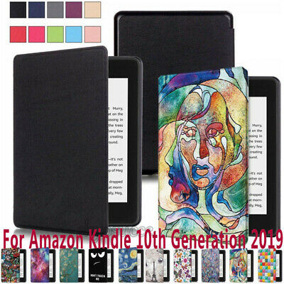 "For New Amazon Kindle Paperwhite 6"" 2019 Smart Painted Magnet Leather Cover Case"