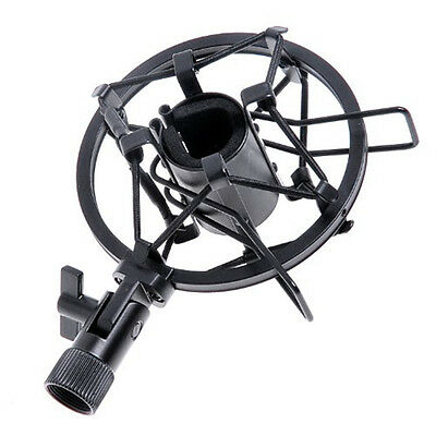 Mic Microphone Shock Mount Stand Holder Mount Clip for Studio Sound Recording LT