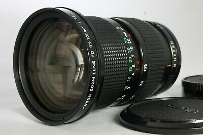 As-is Canon New FD 35-105mm f3.5 Manual Zoom Macro Lens from Japan
