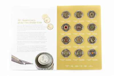 2018 RAM 12x $2 Coin Set Celebrating 30th Ann of Two Dollar Coin OO-199