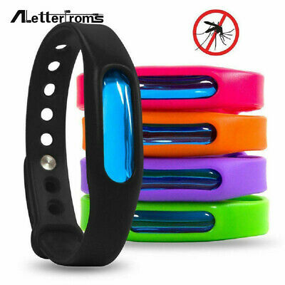 5PCS Anti Mosquito Pest Insect Bugs Repeller Repellent Wristband Wrist Bracelet