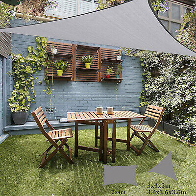 Sun Sail Shade Awings Canopy Garden Sun Summer Cover Patio Screen with Free Rope