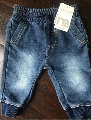 Mothercare Baby Boy Softest Denim Jeans Size Up To 3 Months