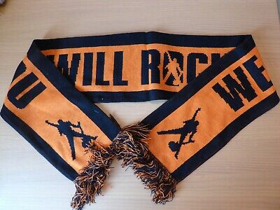 "Queen ""We Will Rock You"" Official Tour Scarf plus Tour Carrier Bag"