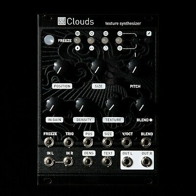 Mutable Instruments Clouds Eurorack Modular Synthesizer (w/ Black Magpie Panel)