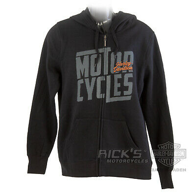 "Rick`s Harley-Davidson Herren Hoodie ""TAPPING THE GEARBOX""  *5AF8-HHEW*"