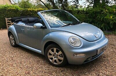 VW Beetle 1.8T 20v 150BHP Convertible - Leather - Aircon - 2005 - Stunning