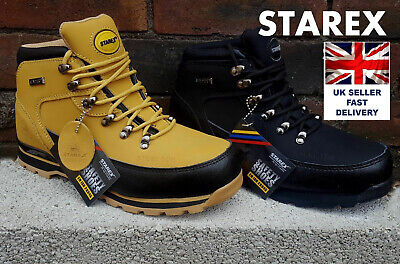 Men Work Safety Ankle  Boot  With Steel Toe Cap Leather Shoe  GR77