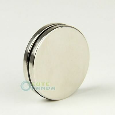 2PCS Round Big Disc Circular Cylinder 30 x 3 mm Magnet Rare Earth Neodymium