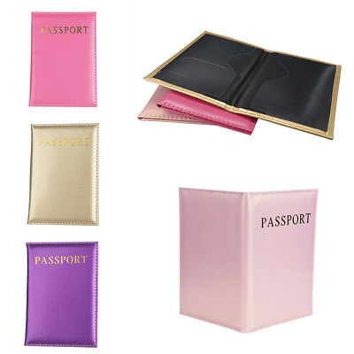 Universal Simple Credit Card Holder Passport Cover Book Case Travel Accessories