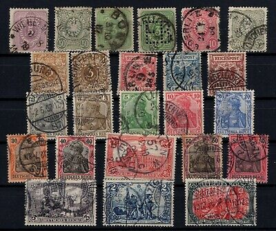 Bp105093/ Allemagne / Germany / Lot 1875 - 1902 Obl / Used 301 E