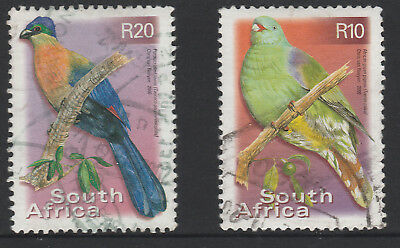 SOUTH AFRICA - 2000 - 10R and 20R - SG1229/31 - FU