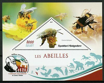 Guinea-bissau 1510-1515 Sheetlet Used 2001 Bee complete Issue