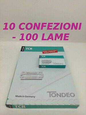 Tondeo Tcr Lame - Made In Germany - 10 X 100 Lame