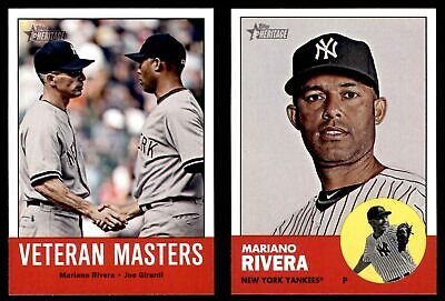 2012 Topps Heritage New York Yankees Almost Complete Team Set  NM/MT