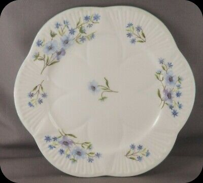 """Shelley Dainty Blue Rock 6"""" Bread and Butter Plate (4 available)"""