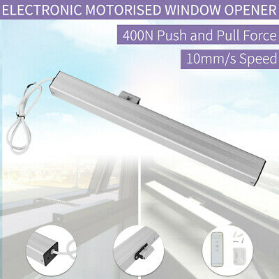 500mm Wireless Electronic Motorised Window Opener Winder Electric Remote Control