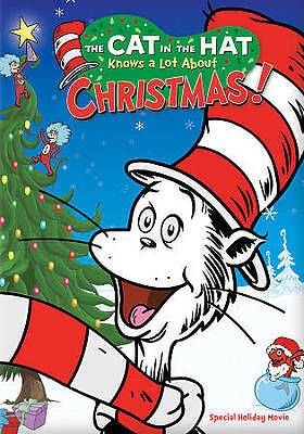 The Cat in the Hat Knows a Lot About Christmas (DVD, 2012) (With Slipcover)