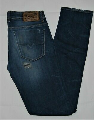 2494871c VINTAGE MENS DIESEL Jeans STRAIGHT Fit KEEVER WASH 008YA Button Fly ...