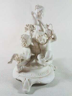 Statuette, Biscuit, Porcelaine De Paris, Porcelain Paris
