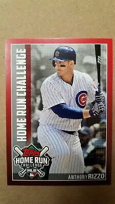 Topps 2019 Series 1 Anthony Rizzo Home Run Challenge Insert Card HRC-20