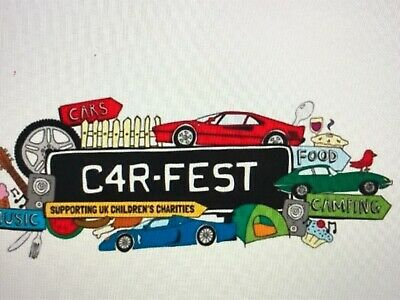 2 X ADULT WEEKEND TICKETS (w/out Camping) to CarFest North, on 26 - 28 July 2019