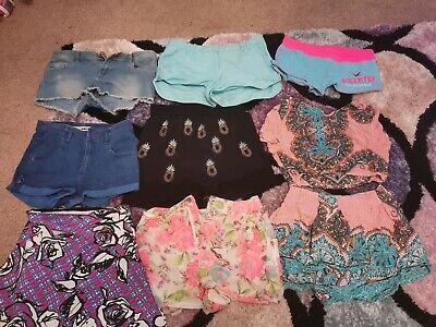 Women's Summer Shorts Bundle Size 10
