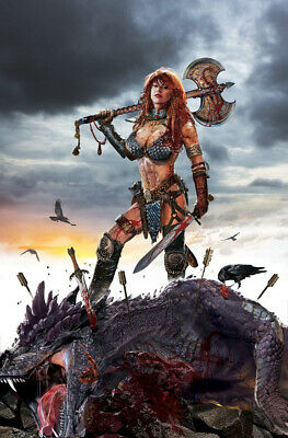 RED SONJA: BIRTH OF THE SHE DEVIL #1 Gallagher Virgin Variant Limited To 500 NM