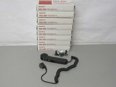 NEW (Lot of 8) Sony HU-80 Hand Control Units for Sony Dictators