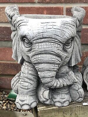 Latex Mould for making This Stunning  large Elephant Flower Pot Stand