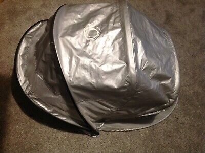 Bugaboo Bee extendable hood/sunshade silver limited edition